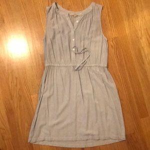 Loft drawstring dress